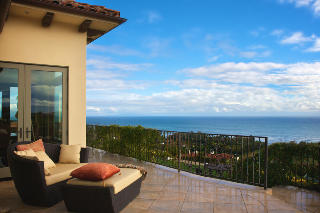 amazing view from luxurious home in malibu ca